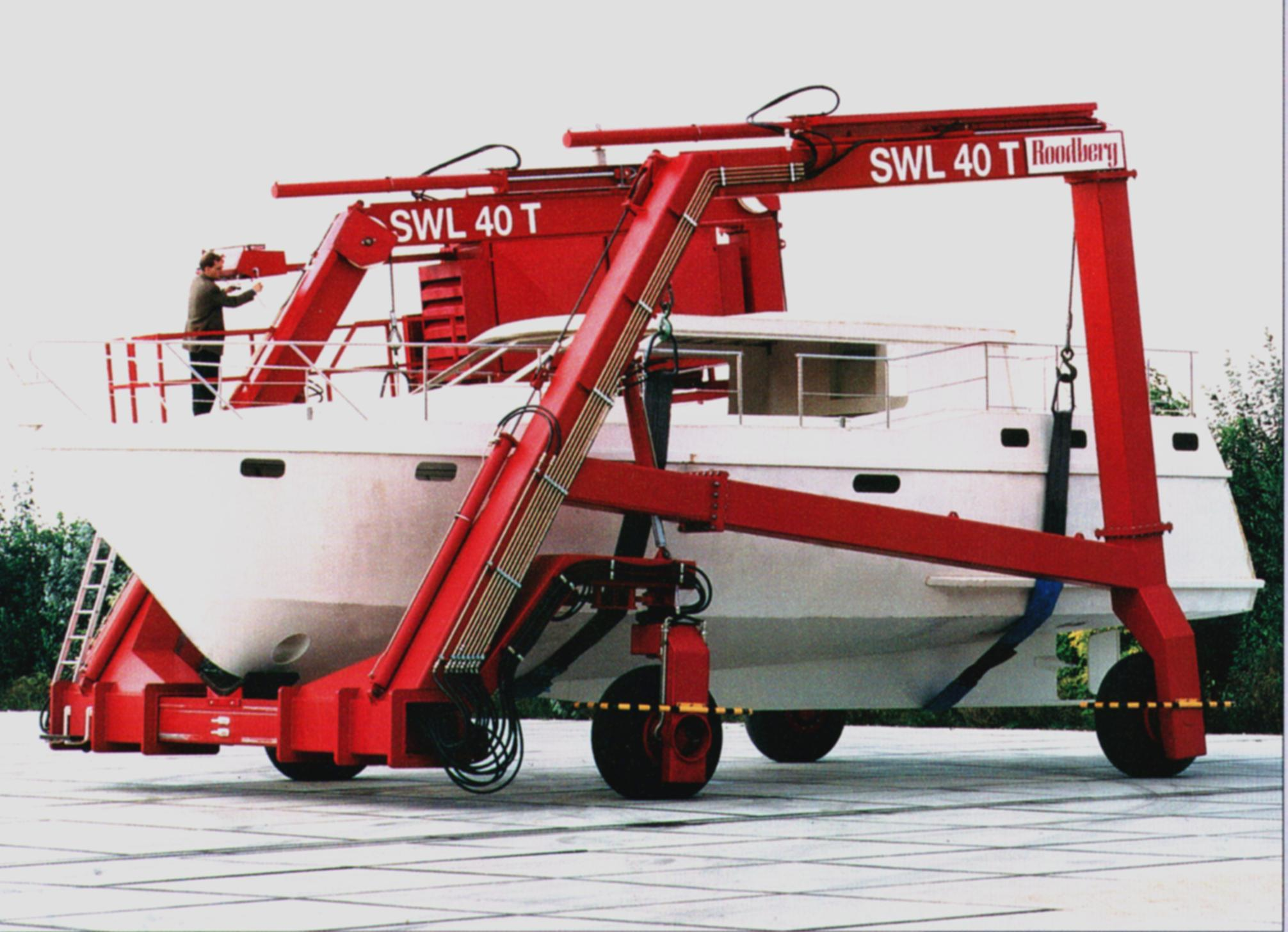 40 ton travel hoist